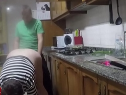 Vaginal discharge in the kitchen.CRI063