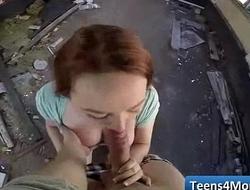 Teens Love Money fucked in open Public - www.Teens4Money.com video 09