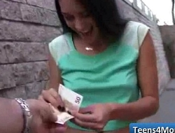 Teens Love Money fucked in open Public - www.Teens4Money.com video 08