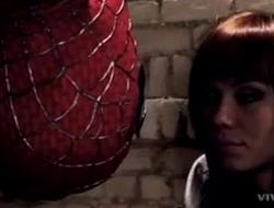 La escena m&aacute_s rom&aacute_ntica de Spiderman....El hombre ara&ntilde_a