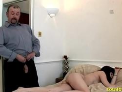 Mature Guy Receives A Handjob