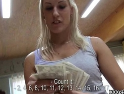 Nasty Public Blowjob and Hardcore Fuck For Cash In Europe 08