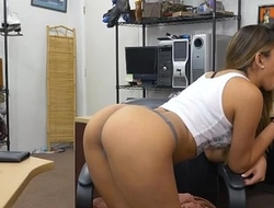 Latina Ho With Big Booty Nicole Rey Sucking Dick In Pawn Shop