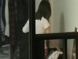 Grabando espiando a flaca del hotel de enfrente