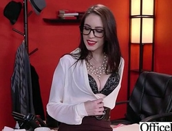 Office Girl (Anna De Ville) With Big Round Melon Tits Like Sex mov-06