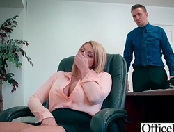 Office Girl (Brooklyn Chase) With Big Round Melon Tits Like Sex mov-13