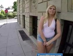 Teens Love Money fucked in open Public - www.Teens4Money.com video 14
