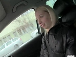 Public Pickups XXX - Teen Euro Whore Suck Dick For Money 23
