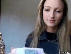Public Pickups XXX - Teen Euro Whore Suck Dick For Money 21