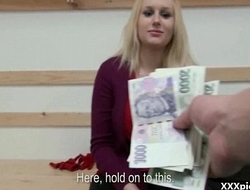 Public Pickups XXX - Teen Euro Whore Suck Dick For Money 05