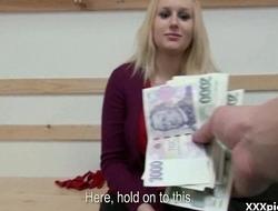 Public Pickups XXX - Teen Euro Whore Suck Dick For Money 05