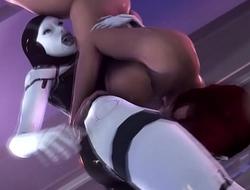 Futa EDI x Femshep-Facefuck-Nude Femshep Version-All In One