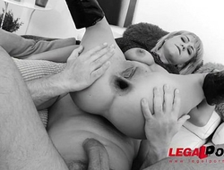Hungry Milf Venus hills 1st time double anal and falls in Love