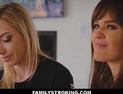 Stepmom And Daughter Zoe Parker